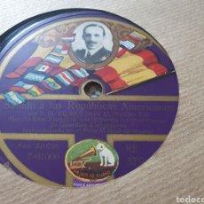 Discos de pizarra: 78 RPM SU MAJESTAD ALFONSO XIII. Lote 266568403