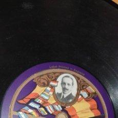 Discos de pizarra: DISCO 78 RPM - ALFONSO XIII - LA VOZ DE SU AMO - ALOCUCIÓN AL PUEBLO ESPAÑOL - PIZARRA. Lote 267506619