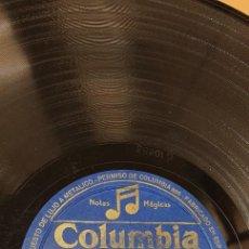 Discos de pizarra: DISCO 78 RPM - MERCEDES MOLINA - COLUMBIA - LA PLAYA MALAGUEÑA / SOY EL MAYORAL - PIZARRA. Lote 267508679
