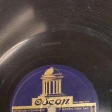 Discos de pizarra: DISCO 78 RPM - CINCO BILBAÍNOS - HIMNO AL ATHLETIC DE BILBAO / BILBAO Y SUS PUEBLOS - FÚTBOL PIZARRA. Lote 267511529