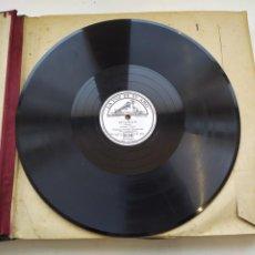 Discos de pizarra: DISCO GRAMOPHONO PIZARRA 78RPM-MIGNON THOMAS-. Lote 267835064