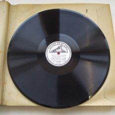Discos de pizarra: DISCO GRAMOPHONO PIZARRA 78RPM-PRINCIPE IGOR BORODIN-. Lote 267835519