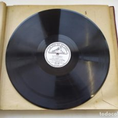 Discos de pizarra: DISCO GRAMOPHONO PIZARRA 78RPM-PETROUCHKA STRAVINSKY-ESCENA 4ª. Lote 267835874