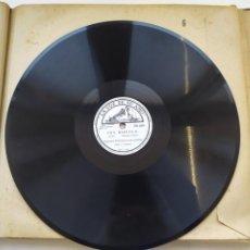 Discos de pizarra: DISCO GRAMOPHONO PIZARRA 78RPM-FRA DIAVOLO AUBER-. Lote 267836039