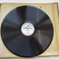 Discos de pizarra: DISCO GRAMOPHONO PIZARRA 78RPM-CONCIERTO PARA VIOLIN EN RE MAYOR BEETHOVEN MOVIMIENTO 2º-. Lote 267836379