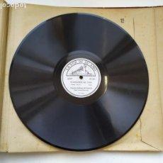 Discos de pizarra: DISCO GRAMOPHONO PIZARRA 78RPM-INVITACION AL VALS WEBER-. Lote 267836564