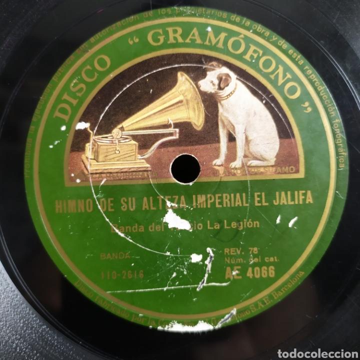 Discos de pizarra: Banda Del Tercio La Legión - Himno A Los Legionarios / Himno De Su Alteza Imperial El Jalifa - Foto 2 - 268286334