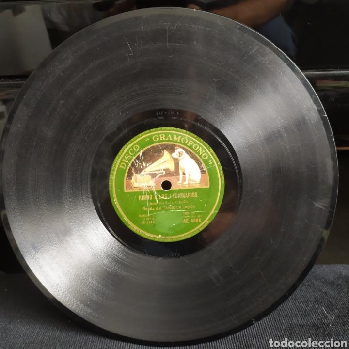 Discos de pizarra: Banda Del Tercio La Legión - Himno A Los Legionarios / Himno De Su Alteza Imperial El Jalifa - Foto 4 - 268286334