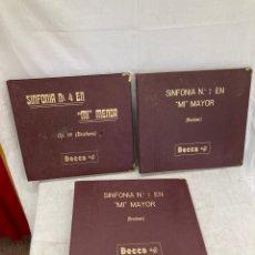 Discos de pizarra: LOTE DE 3 ALBUMES DE DISCOS DE PIZARRA!. Lote 269012559