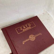 Discos de pizarra: ALBUM CON 11 DISCOS DE GRAMOFONO!PIZARA!. Lote 269119483