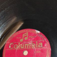 Discos de pizarra: DISCO 78 RPM - CONJUNTO TÍPICO CUBANO - BEBO & VINAGRE - PIZARRA. Lote 269137348