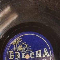Discos de pizarra: DISCO 78 RPM - BANDA REPUBLICANA DE PANAMÁ - HIMNO NACIONAL DE PANAMÁ - CHARPENTIER HIJO - PIZARRA. Lote 269137963