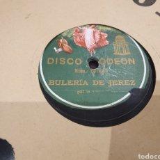 Discos de pizarra: 78 RPM LA PASTORA. Lote 270257573