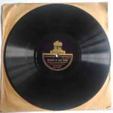 Discos de pizarra: DISCO DE PIZARRA, MILONGA DE JUAN SIMON/ COPLA DE LA FERIA. ANGELILLO.DEL FILM LA HIJA DE JUAN SIMÓN. Lote 270637108