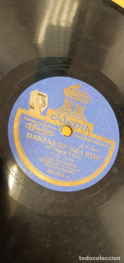 DISCO 78 RPM - CORAL MIERENSE - ASTURIAS - REINERIO GARCÍA - CANCIÓN DE MARINEROS - PIZARRA (Música - Discos - Pizarra - Otros estilos)