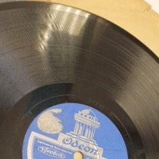 Discos de pizarra: DISCO 78 RPM - EL PANADERU - ASTURIAS - EN MEDIO DE LA QUINTANA / A LA SALIDA DEL SELLA - PIZARRA. Lote 271014008
