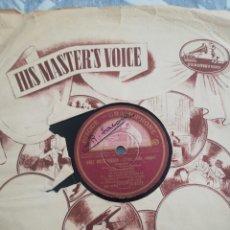 Discos de pizarra: DISCO 78RPM LALE ANDERSEN (MARLENE DIETRICH) LILI MARLENE / DREI ROTE ROSEN. Lote 274382418