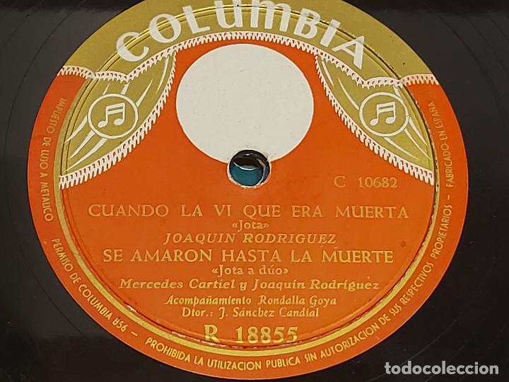PIZARRA !! MERCEDES CARTIEL Y JOAQUÍN RODRIGUEZ / JOTAS / LEER (Música - Discos - Pizarra - Otros estilos)