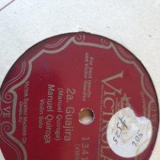 Discos de pizarra: 78 RPM SOLO DE VIOLIN. Lote 275935248