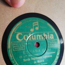 Discos de pizarra: ALBUM 10 DISCOS DE PIZARRA 78RPM. Lote 276203183