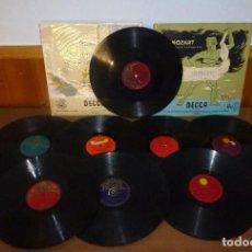 Discos de pizarra: 10 DISCOS DE PIZARRA.ESTILOS VARIADOS.. Lote 276388238