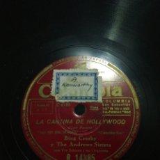 Discos de pizarra: GRAN LOTE 10 DISCOS 78RPM VARIADOS. Lote 276405938