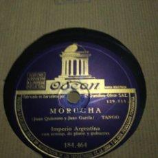 Discos de pizarra: LOTE 6 DISCOS 78RPM VARIADOS. Lote 276406188