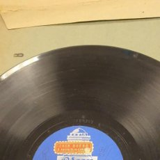 Discos de pizarra: DISCO 78 RPM - CORO CANTIGAS DA TERRA - CORUÑA - ODEON - CANTO D'ARRIERO - FOLIADA - PIZARRA. Lote 276557783