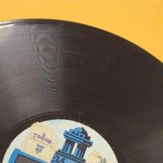 Discos de pizarra: DISCO 78 RPM - MARÍA CONESA - ODEON - EL SOMBRERO JARANO - CANCIÓN Y TONADILLA MEXICANA - QUÉ CHULOS. Lote 276563978