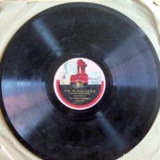 Discos de pizarra: DISCO PIZARRA 25 CM EMILI VENDRELL: LA ALSACIANA / MOLINOS DE VIENTO - ODEON. Lote 276704743