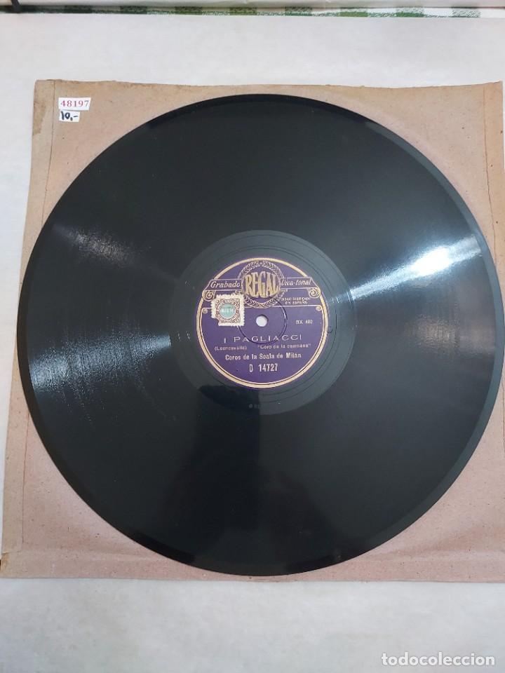 48197 - CORO DE LA SCALA DE MILAN - I PAGLIACCI (Música - Discos - Pizarra - Clásica, Ópera, Zarzuela y Marchas)
