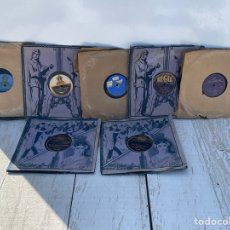 Disques en gomme-laque: LOTE DE DISCOS DE PIZARRA HAY 8 DISCOS. Lote 276792083