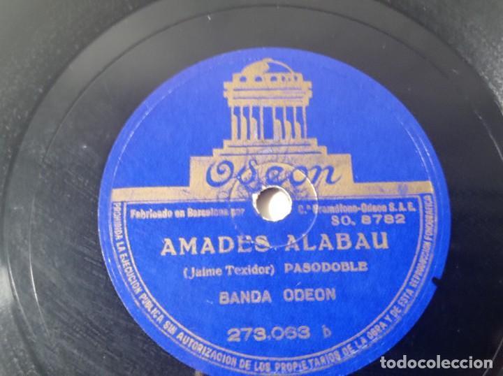 DISCO GRAMÓFONO ODEÓN PASODOBLE GUITARRA ESPAÑOLA ORIGINAL NO COPIA. REF.AUTO (Música - Discos - Pizarra - Solistas Melódicos y Bailables)