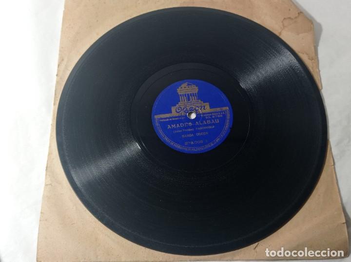 Discos de pizarra: disco gramófono Odeón pasodoble guitarra española original no copia. Ref.auto - Foto 2 - 277124508