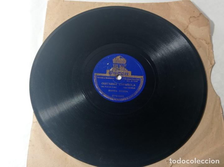 Discos de pizarra: disco gramófono Odeón pasodoble guitarra española original no copia. Ref.auto - Foto 4 - 277124508