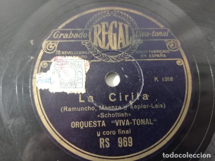 Discos de pizarra: disco gramófono regal las cariñosas original no copia. Ref.auto - Foto 3 - 277124888