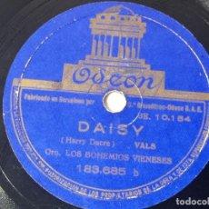 Discos de pizarra: DISCO ODEÓN VALS FASCINACION ORIGINAL NO COPIA. REF.AUTO. Lote 277130243