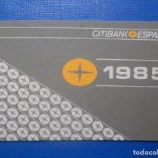 Discos de pizarra: CAJA METÁLICA GRANDE - CITIBANK ESPAÑA - 1985. Lote 277288753