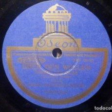 Discos de pizarra: DISCO DE PIZARRA ODEON 182.372 - DANAUWELLEN - OLAS DEL DANUBIO - UBER DEN WELLEN - ORQUESTA. Lote 277295993