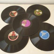 Discos de pizarra: LOTE DE 16 DISCOS DE PIZARRA. Lote 277635973