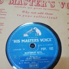 Discos de pizarra: DISCO 78RPM ELVIS PRESLEY I WAS THE ONE / HEARTBREAK HOTEL. Lote 277700978
