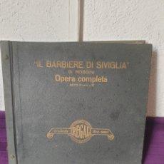 Discos de pizarra: ANTIGUOS DISCO DE PIZARRA/GRAMÓFONO BARBIERE DI SIVIGLIA. Lote 277852233