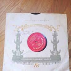 Discos de pizarra: DISCO PIZARRA RIMSKY-KORSAKOV CAPRICHO ESPAÑOL EDICION RUSA. Lote 279461403