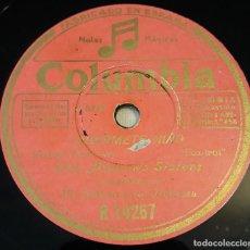 Discos de pizarra: PIZARRA.78 RPM. COLUMBIA R 14267. THE ANDREWS SISTERS. DUÉRMETE NIÑO / PORQUE NO HACEMOS ESTO MAS ... Lote 282586518