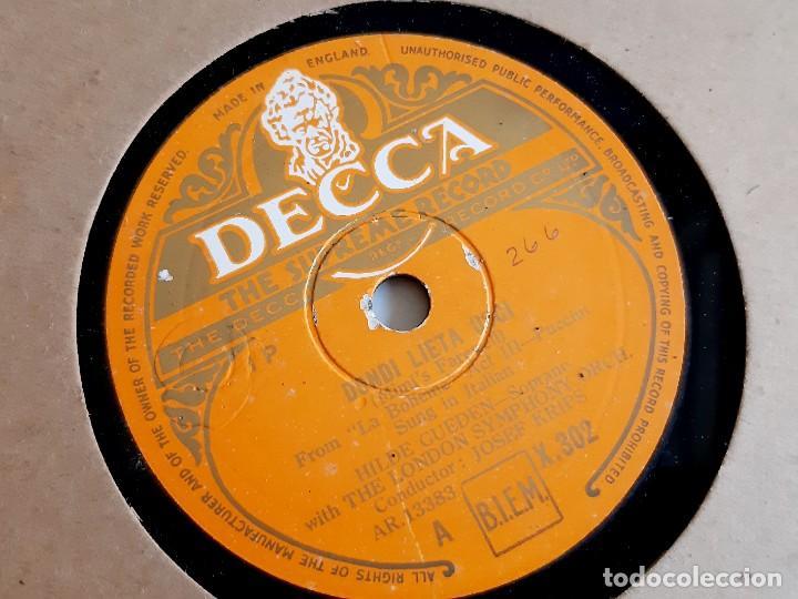 Discos de pizarra: DISCO PIZARRA 78 RPM - Foto 2 - 283383528