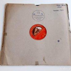 Discos de pizarra: DISCO PIZARRA 78 RPM. Lote 283384013