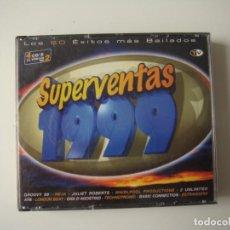 Discos de pizarra: CD SUPER VENTAS 1999. Lote 286905953