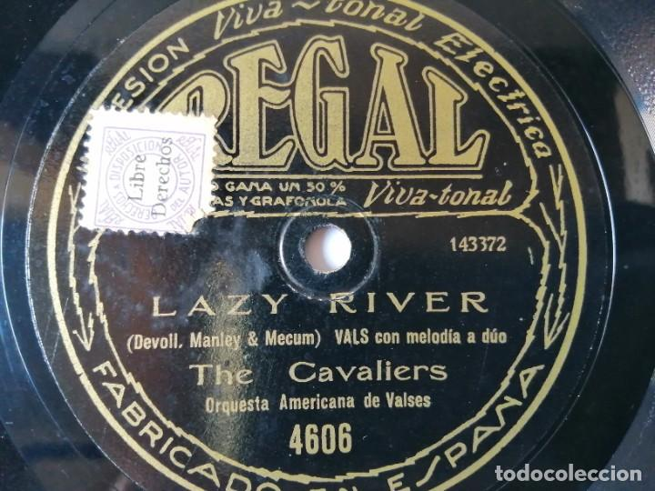 THE CAVALIERS / THE STERLING ORCHESTRA - LAZY RIVER / YESTERDAY - REGAL 4606 (Música - Discos - Pizarra - Jazz, Blues, R&B, Soul y Gospel)