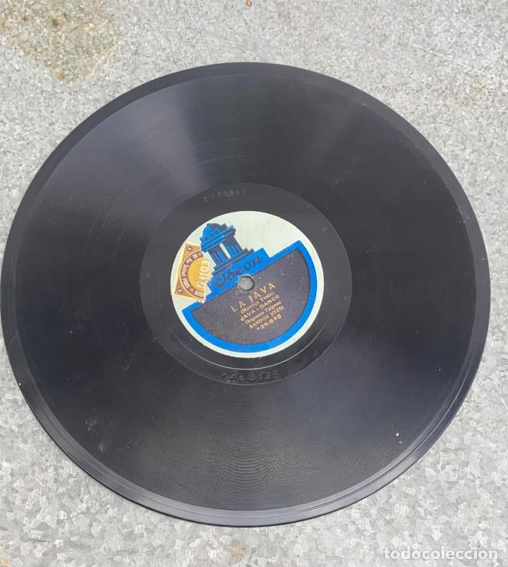 Discos de pizarra: DISCO DE PIZARRA WANA SHIMY BLUES - LA JAVA JAVA DANCE ODEON - Foto 2 - 287690648