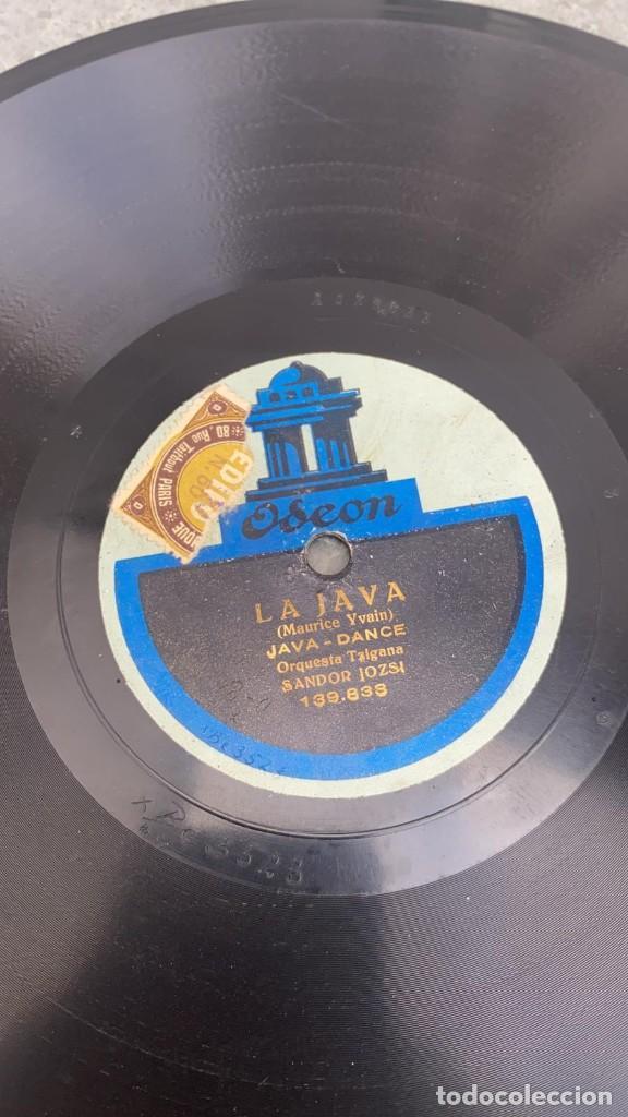 Discos de pizarra: DISCO DE PIZARRA WANA SHIMY BLUES - LA JAVA JAVA DANCE ODEON - Foto 3 - 287690648